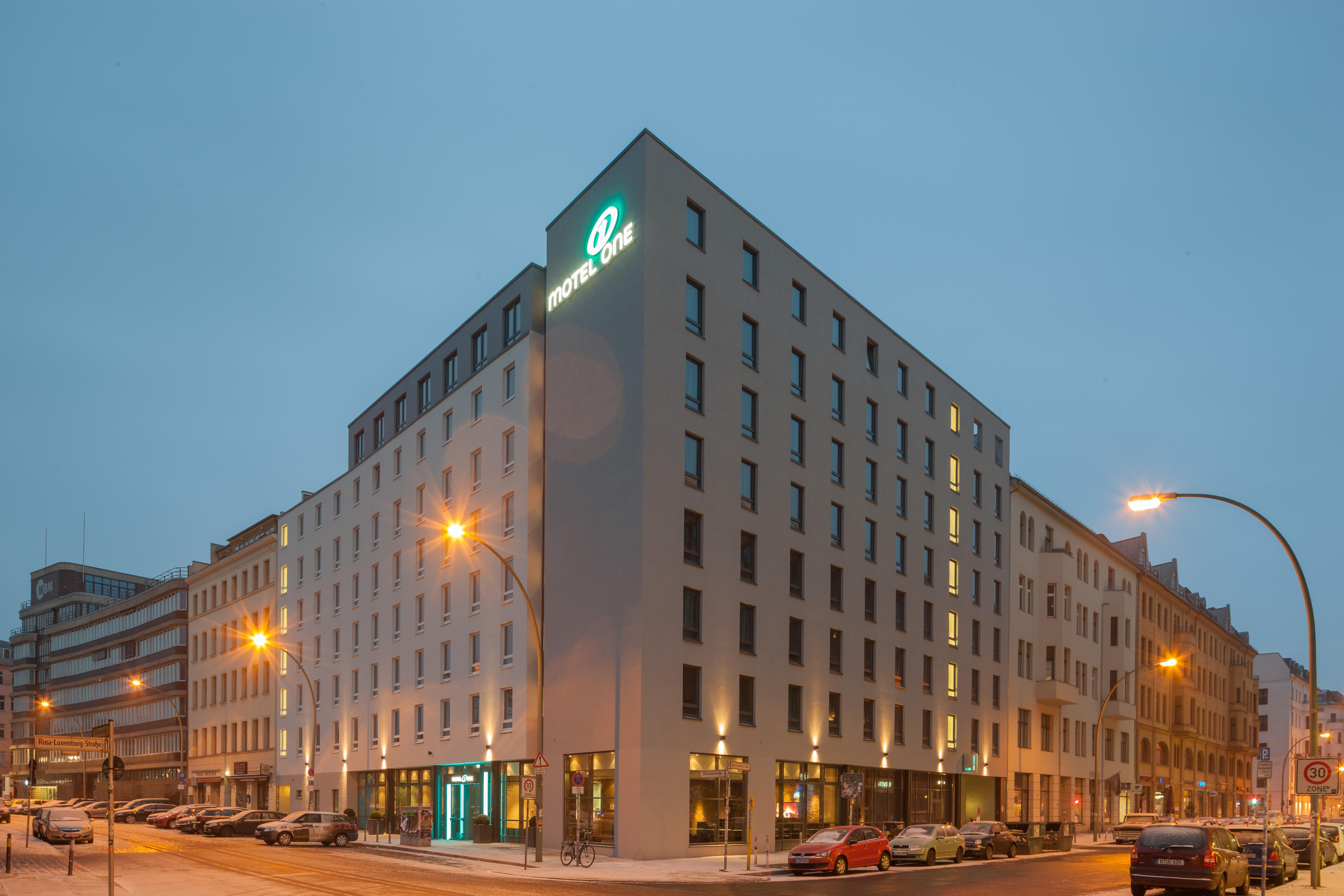 Hotel Berlin Hackescher Markt Motel One Design Hotels Berlin