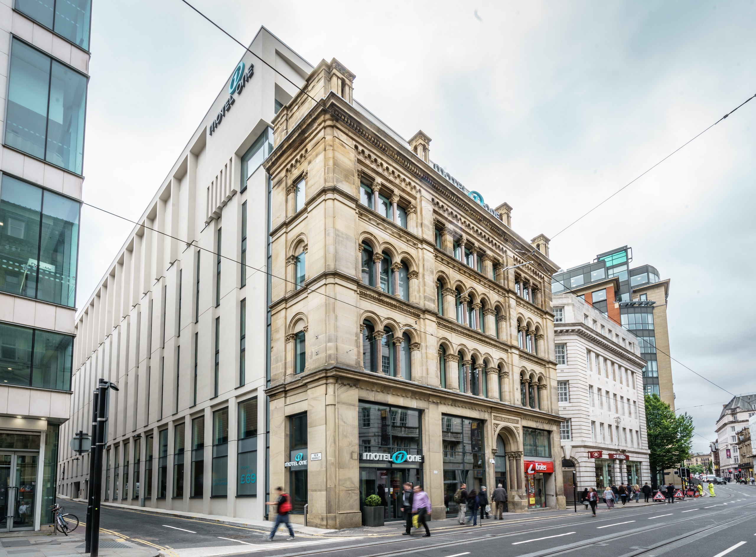 Hotel Manchester Royal Exchange Motel One Design Hotels Manchester