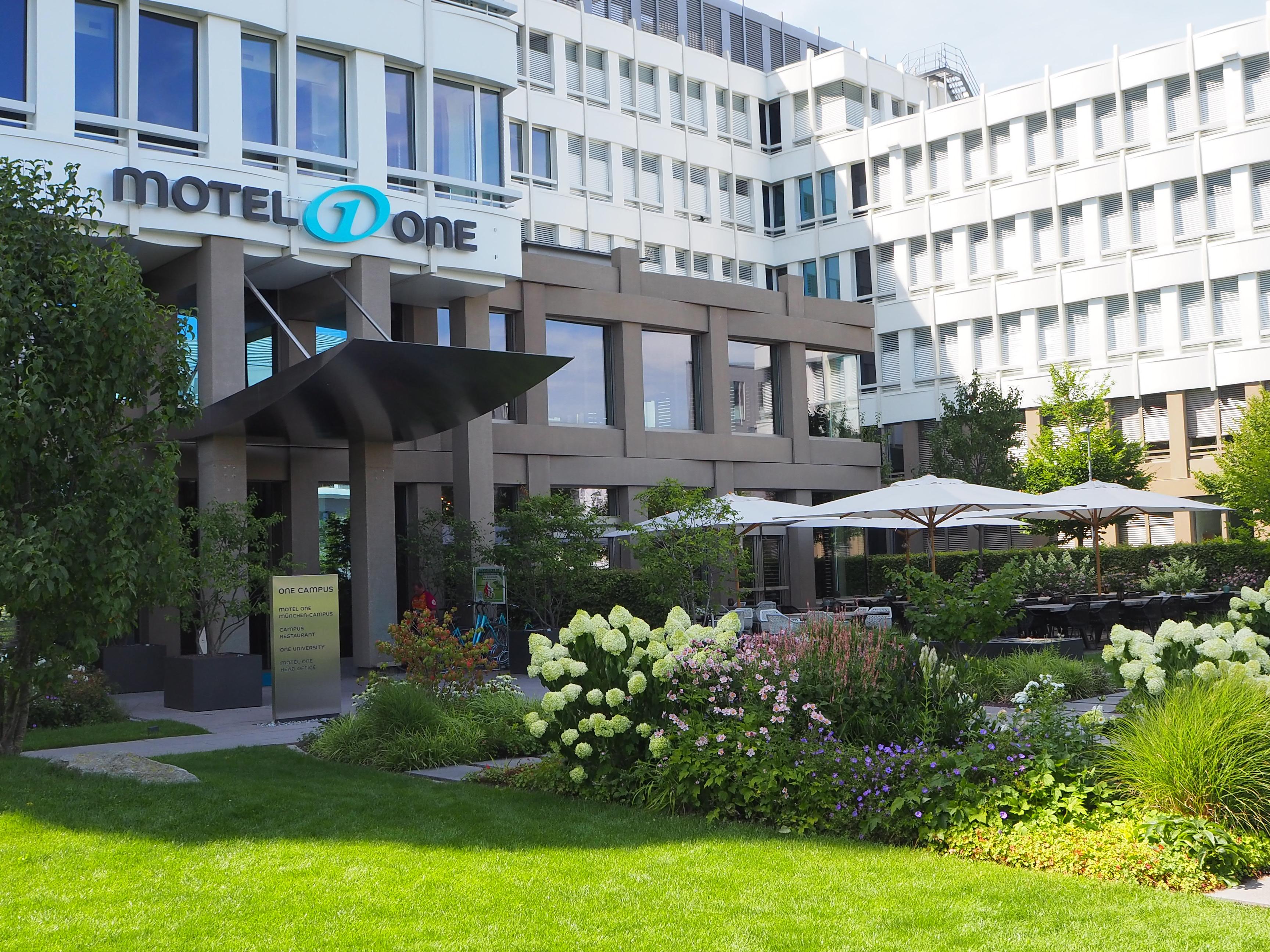 Hotel Munich Campus Motel One Design Hotels Munich Campus