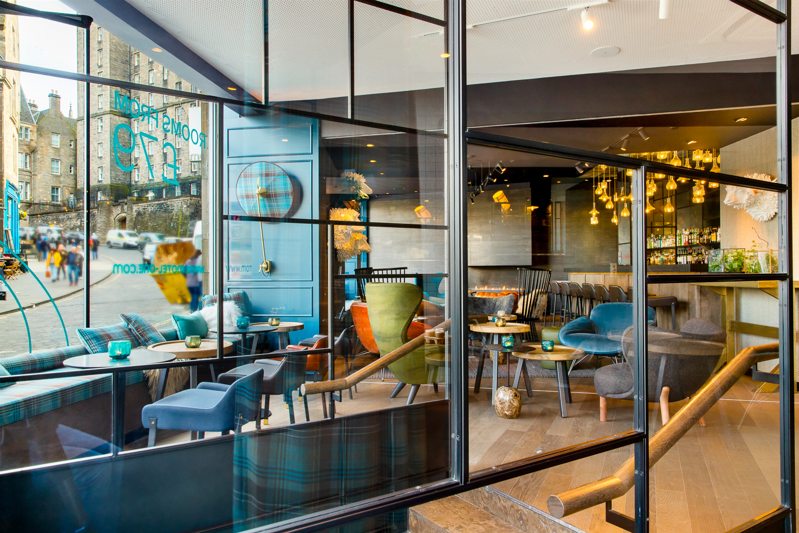Hotel Edinburgh Royal Motel One Design Hotels Edinburgh Royal