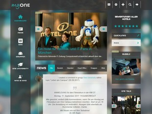 [Translate to English:] My One - Das Intranet für alle Motel One Mitarbeiter