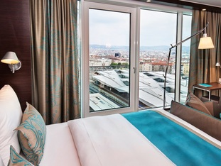 Hotel Wien Hauptbahnhof habitación con vistas