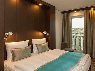 Hotel Berlin Potsdamer Platz habitación con vistas