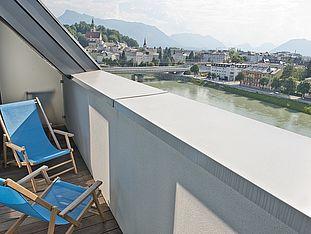 Hotel Salzburg Mirabell habitación con vistas